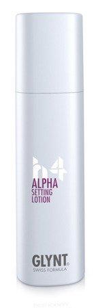 ALPHA Setting Lotion - do użytku przed suszeniem włosów, zapewnia mocne utrwalenia i objętość bez sklejania włosów, nadje fryzurze długo otrzymujący się kształt