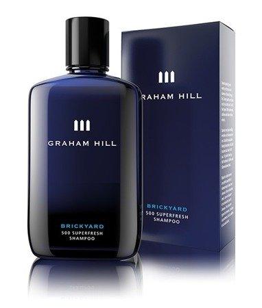 BRICKYARD 500 - odświeżający szampon dla mężczyzn, do każdego rodzaju włosów, dokładnie myje ale jednocześnie nie przesusza włosów
