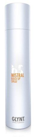 MISTRAL Build Up Spray -  unosi włosy u nasady dla zwiększenia objętości fryzury, nadaje włosom trwały kształt i objętość